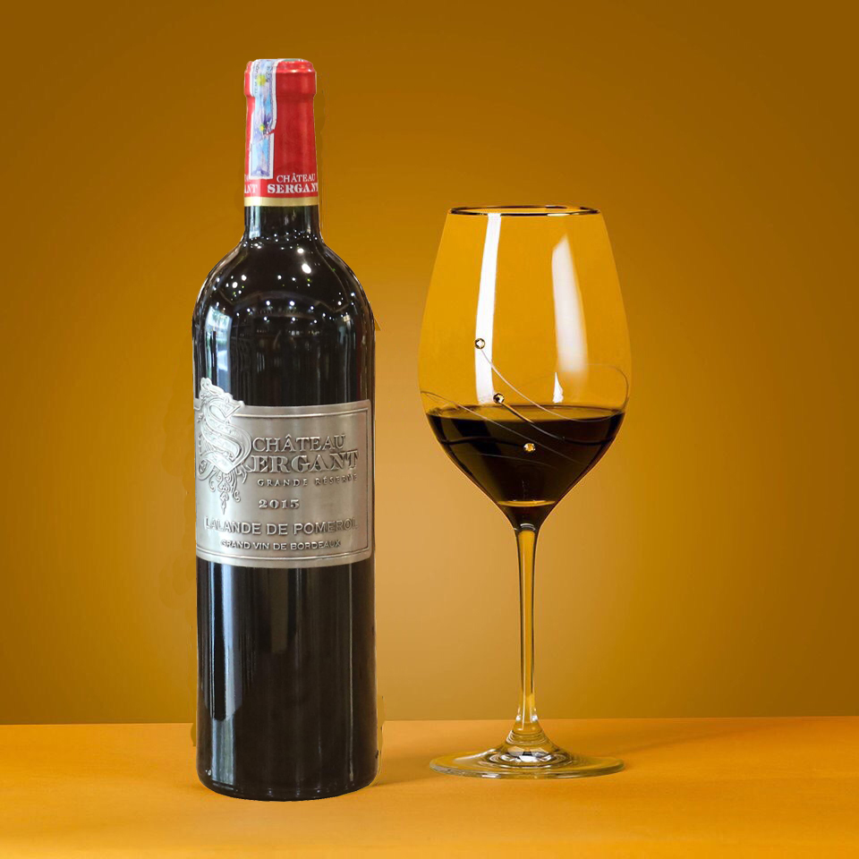 Rượu Vang Pháp Chateau Sergant - RƯỢU HẢI VANG - CÔNG TY CỔ PHẦN SẢN XUẤT  VÀ XUẤT NHẬP KHẨU AMIX